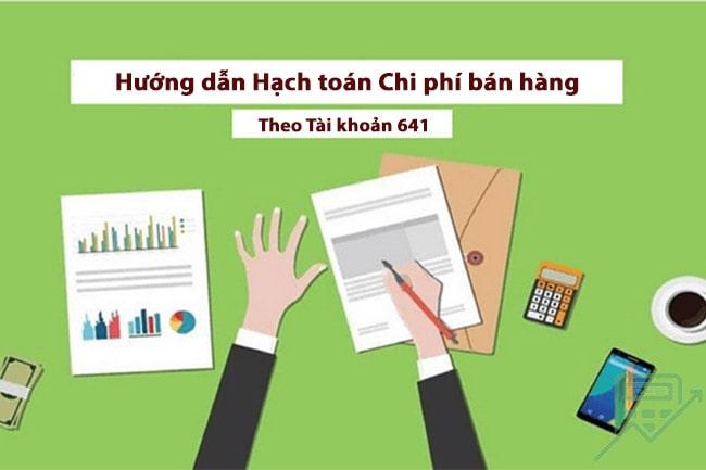 hach toan chi phi ban hang