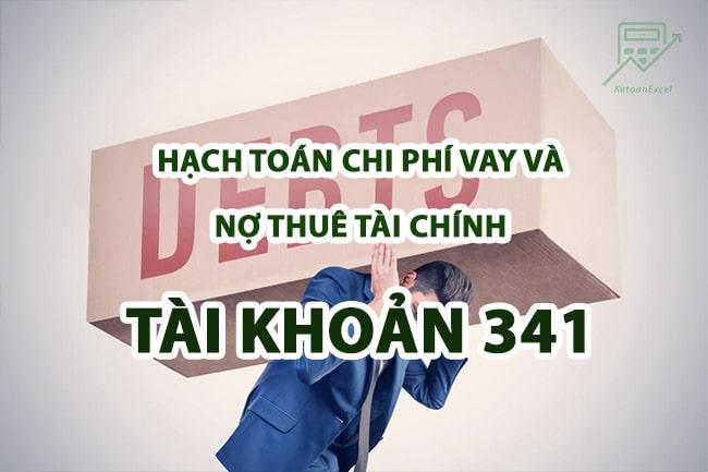 hach toan chi phi vay va no thue tai chinh